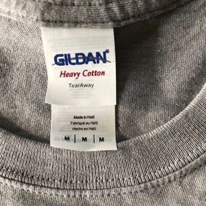Gildan Tops - Nautical Key West Cotton Gray Tee T-Shirt Top